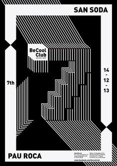 wedieforbeauty:    Becool Club: San Soda / Pau RocaPablo Benito / Looks like music