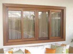 Resultado de imagem para janela de madeira com vidro