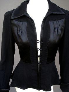Vintage and Designer Jackets - For Sale at Biba Fashion, Retro Fashion, Vintage Fashion, Ossie Clark, Clarks, 70s Inspired Fashion, Crepe Fabric, Vintage Jacket, Fashion Forward