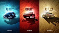 Honda - Reflect by Jorge Artola, via Behance