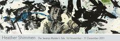 Heather Shimmen Printmaking, Moose Art, Painting, Animals, Inspiration, Biblical Inspiration, Animales, Animaux, Painting Art