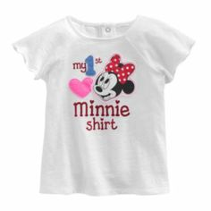 Disney My First Minnie Mouse Tee by Jumping Beans - Baby