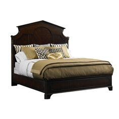 Charleston Regency Cathedral Bed from Stanley Furniture #bed #bedroom #decor #bedroomdecor  #comfy #room #home #house #homedecor #birmhinghamwholesale #furniture