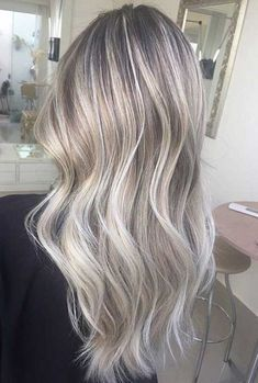 Ashy Blonde Highlights Appropriate To Casul Event 450x667 Jpg 450