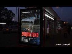 Żmijowisko w CANAL+ z drukiem soczewkowym na Premium Citylight AMS Broadway Shows, Youtube, Youtubers, Youtube Movies