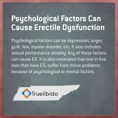 Psychological Factors Can Cause #ED