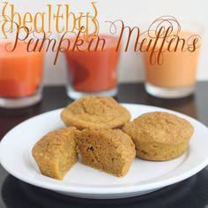 Pumpkin Muffins (healthy!)