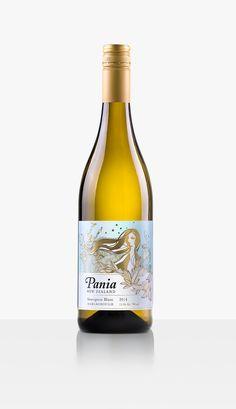 PANIA NEW ZEALAND - Sauvignon Blanc. Design by Tardis, Wellington. #taninotanino