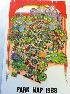 Amusement Park Icons Set Elegant Series Stock Vector 99115409