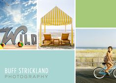Buff Strickland rebrand/promo design