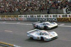 24 heures du Mans 1971 - Porsche 917 #17- Pilotes :Pedro Rodriguez / Jackie Oliver - Abandon