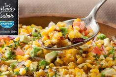 Una nueva forma de preparar tu ensalada de choclos... ¡también a la parrilla!