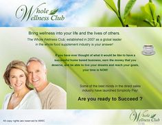 Customers earn cash rewards on their whole food health supplements. Get healthier and get cash back! WOW