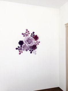 Papel del partido flores Mini telón de fondo decoración