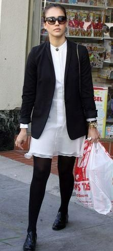 Who made Jessica Alba's white dress that she wore on December 18, 2011? Dress – One  Purse – Bvlgari