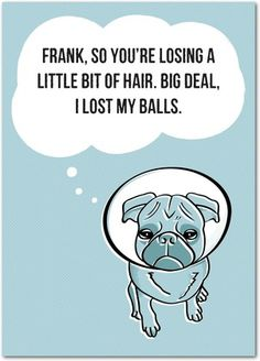 Funny Birthday Greeting Cards - Big Loss from treat.com