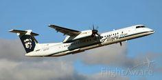 Alaska Airlines (Horizon Air), Bombardier DHC-8-402 Q400 (N427QX) at Reno (KRNO)