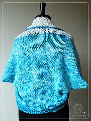 Ravelry: Teal-Snow Shrug pattern by Cathliin
