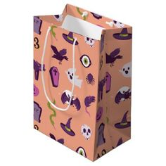#Halloween Patterned Gift Bags - #Halloween #happyhalloween #festival #party #holiday