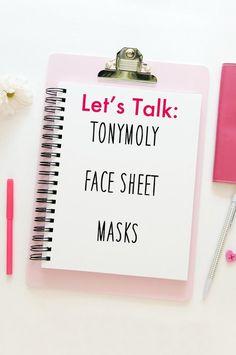 TonyMoly Sheet Mask Review