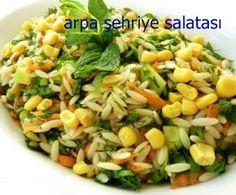 Hiç arpa şehriyeden salata yaptınız mı?