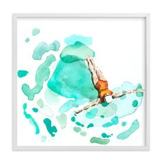 """""""Float"""" - Art Print by Betty Hatchett in beautiful frame options and a variety of sizes."""