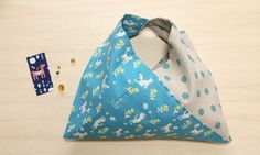 Cotorienne Cat & Bird fabric + Kei fabric dots : Miss Matatabi
