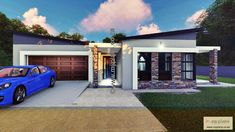 Tuscan House PlanHouse Plan with Full Master Suite, 3Standard Bedrooms, Open Plan with Scullery and double garage