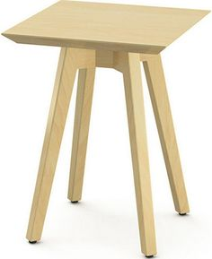 """Risom Square Side Table  14"""" W x 14"""" D x 18"""" H"""
