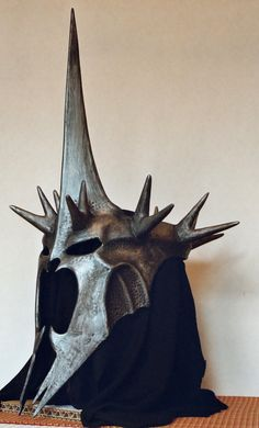 Helmet of the Witch-King by mattleese87.deviantart.com; painted foam.
