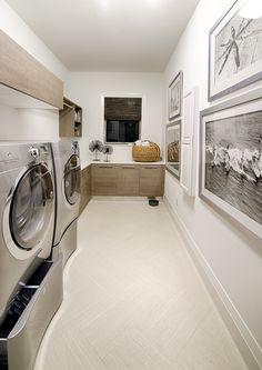 "Laundry room in Divco Custom Homes ""Antigua"" model in Miromar Lakes. Divco Homes | Naples, FL | Divcohomes.com"