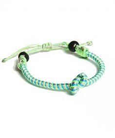 Turquoise Multi Friendship Bracelet, Sequence