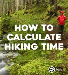 For casual hikers, particularly day hikers trying to fit in a quick hike in the wilderness, knowing how long a hike will take is of utmost importance. Many times a hiking trail will list its mileage but not an estimated time to complete it, leaving hikers Hiking Tips, Camping And Hiking, Hiking Gear, Hiking Backpack, Camping Gear, Camping Equipment, Camping Essentials, Camping Hacks, Get Outdoors