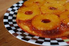 gâteau caramélise ananas