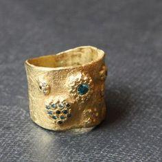 Ohrringe mit blauen /& klaren Zirkonia  Comtesse Earrings IV 18 Karat vergoldet