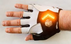 These bike turn signal gloves make you both safer and more rad | Grist