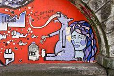 Street Art In Belfast (near the Hilton hotel) - #StreetPhotography