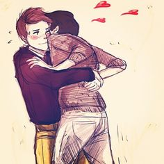 Klaine: Gold Pants Tackle by ~Snowfest on deviantART