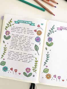 Learn about the benefits of a daily journaling practice and get my journaling tips. Plus a free printable template for your bullet journal or planner. #bulletjournal #bujo #dailyjournalpractice #journaling #journaltemplate #bulletjournalprintable #doodling #bulletjournaling