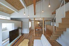 Design and Lifestyle News Interior Architecture Interior Minimalista, Wooden Architecture, Amazing Architecture, Loft Stairs, Loft Studio, Duplex, Japanese House, Minimalist Interior, Wood Design