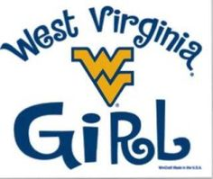 You can take the girl out of West By God Virginia, but you can't take WV out of the girl!