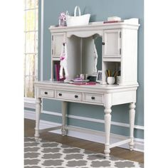Madison Kids 50 in. Desk with Hutch
