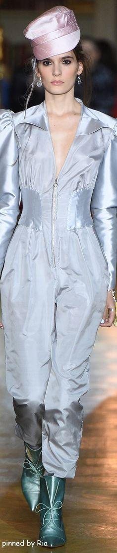 Ulyana Sergeenko Spring 2016 Couture l Ria