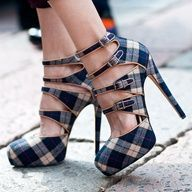 plaid-Christian Louboutin