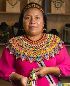 Crochet Necklace, Beaded Necklace, Jewelery, Diy Jewelry, Beaded Collar, Neck Piece, Kandi, Textiles, African Fashion