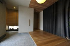 石友ホーム 魚津の家 Green Interior Design, Shophouse, Space Space, Modern Front Door, Japanese Architecture, Japanese House, Minimalist Interior, Future House, Ideal Home