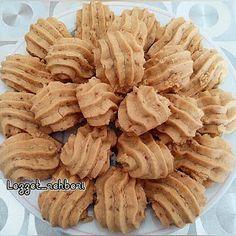 Susamlı Tahinli Kurabiye - Nefis Tarifler Cookie Recipes, Snack Recipes, Coffee Cookies, Apple Pie, Yogurt, Almond, Deserts, Food And Drink, Chips