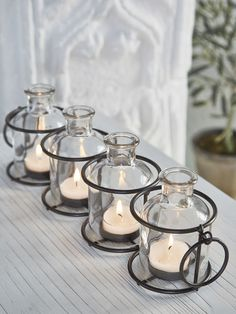 Bottle Tealight Set//