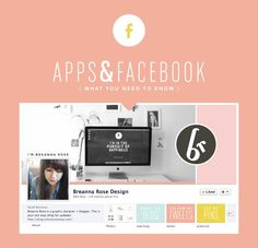 what to do to your business facebook page to make it awesome. includes links to great apps to install! (i didn't even know you could install apps on your fb page) // breanna rose design