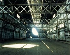 Day's End by Gordon Matta-Clark What is today the parking lot for the Department of Sanitation, was once the site of Pier The abandoned piers along the Hudson River were remnants of various. Gordon Matta Clark, Clark Art, Lesbian Art, Rene Magritte, Alternative Art, New York Art, Photographs Of People, Museum Exhibition, American Artists